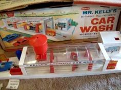 1964 Mr. Kelly's Car Wash by Remco Toys - Vintage 1960s Toy