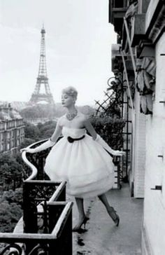 #Paris 1950's  #fashion