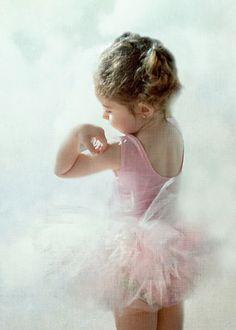 Young ballerina.