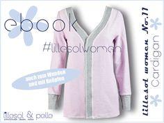 Ebook / Schnittmuster lillesol women No.11 Cardigan - lillesol & pelle Schnittmuster