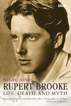 "Rupert Brooke, 3 August 1887 – 23 April English Poet and Soldier - ""If I should die, think only this of me/That there's some corner of a foreign field/That is for ever England."" (The Soldier) Rupert Brooke, Disney Marvel, Yeats Poems, Karl Valentin, William Butler Yeats, English Poets, Writers And Poets, American Poets, Playwright"