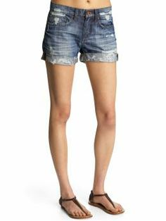 Joe's Jeans Loose Rolled Shorts. So comfy!
