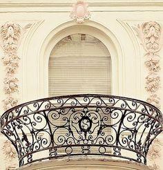 A truly beautiful balcony, Paris ~ France