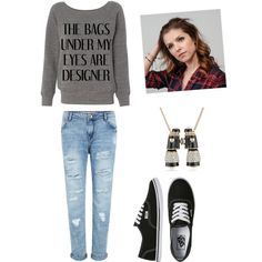 Untitled #32 by jazzyboo-395 on Polyvore featuring polyvore, fashion, style, Vans and Betsey Johnson