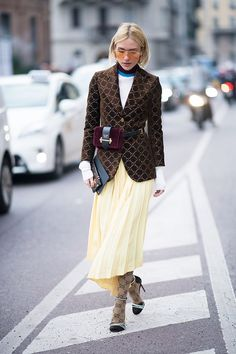 Come fashion week in the Italian city, those on the street style circuit like to show off in their finest and most eye-catching attire