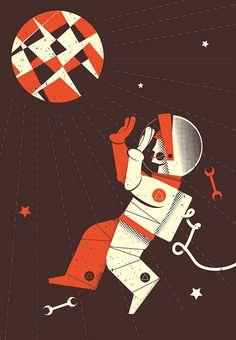 Lost in space ..., via Flickr.