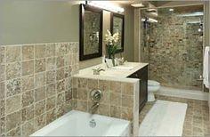 Our new home. Loft Bathroom, Bathrooms, Corner Bathtub, Alcove, Toronto, New Homes, Bathroom, Corner Tub, Bath