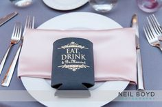 Eat, drink & be married.  Neil Boyd Photography.  Raleigh wedding photographer.