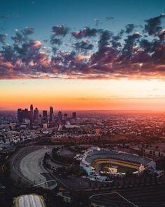 Los Angeles California by Ryan Thomas