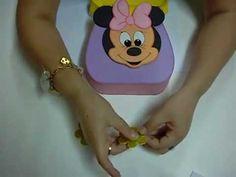 tutorial foamy - borsa da bambina