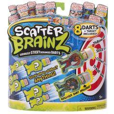 Scatter Brainz Darts - Pack of Eight - Wave 1 Scatter Brainz.
