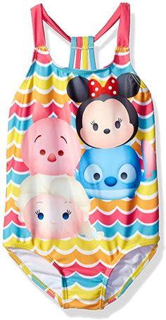 Disney Store Tsum Tsum Girls PJ/'s Pajamas Size 7//8 Minnie Mickey Marie Eeyore !