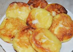Сырники с манкой Russian Recipes, Pretzel Bites, Pancakes, Food And Drink, Potatoes, Bread, Vegetables, Baking, Crepes