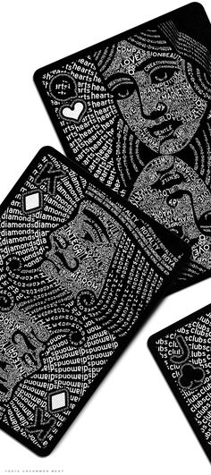 I love playing cards.: