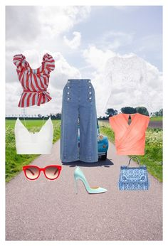 A fashion look from July 2015 featuring white crop tops, summer shirts and going out tops. Browse and shop related looks. Going Out Tops, Summer Shirts, Polyvore, Fashion Looks, Crop Tops, Shopping, Cropped Tops, Crop Top Outfits