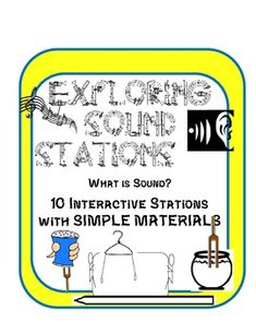 10 Sound and Waves Experiment Stations with Simple Materials