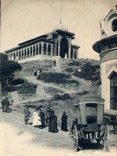 Cim del Tibidabo. Barcelona 1903.