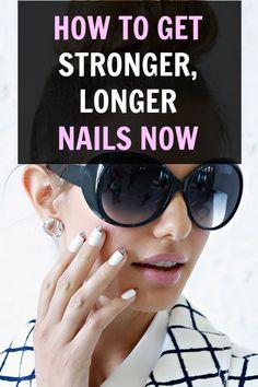 Amazing tips for stronger & longer nails