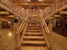 Luxurious Log Home on shy 289 Acres