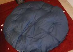 How to Make a Papasan Chair Cushion: 10 Steps