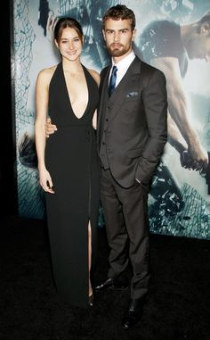 Shailene Woodley and Theo James Dazzle at the Insurgent N.Y.C. Premiere  #InStyle
