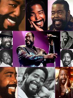 Barry White, born Barry Eugene Carter (Sept. 12, 1944 – July 4, 2003)