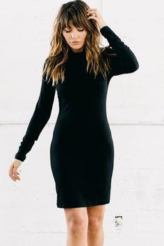 Foxy Dress - Black