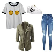"""Untitled #14"" by juliaschwartz202 on Polyvore featuring Lipsy, Chicnova Fashion and adidas"