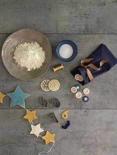 DIY-Tipp: Sternenkette aus Salzteig  - Wohnidee