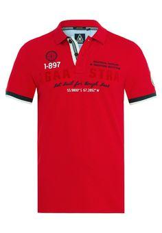 Gaastra PEAKART Poloshirt red Bekleidung bei Zalando.de | Material Oberstoff: 95% Baumwolle, 5% Elasthan | Bekleidung jetzt versandkostenfrei bei Zalando.de bestellen!