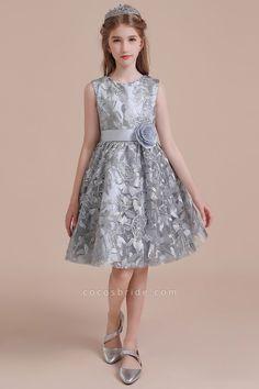 Bow Sleeveless A-line Tulle Flower Girl Dress Girls Dresses Online, Prom Dresses Uk, Flower Dresses, Cheap Dresses, Dresses For Sale, Dress Online, Party Dresses, Holiday Dresses, Tulle Flowers
