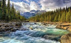 Provo River HD Wallpaper
