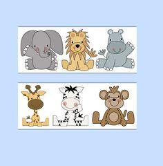 31 Trendy Ideas For Baby Boy Nursery Jungle Zoo Animals Wallpaper Borders Jungle Nursery Boy, Baby Nursery Themes, Baby Boy Nurseries, Safari Jungle, Jungle Animals, Boys Wallpaper, Animal Wallpaper, Wallpaper Borders, Wallpaper Ideas