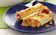 Greek Beauty, Spanakopita, Cheesesteak, Hot Dog Buns, Lasagna, Pasta Recipes, Food To Make, Main Dishes, Sandwiches