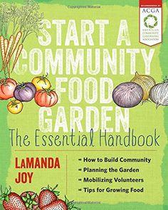 start a community food garden book cover
