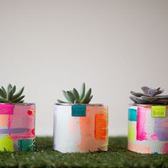 Hockney Leather Pot by BON, the perfect gift for Explore more unique gifts in our curated marketplace. Painted Clay Pots, Hand Painted, Large Flower Pots, Laser Cut Leather, Cement Crafts, Planting Succulents, Succulent Plants, Plant Pots, Diy Planters