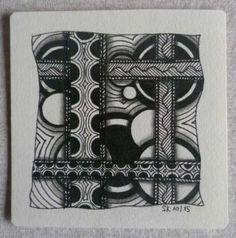 Zentangle 17 MusterMixer #11