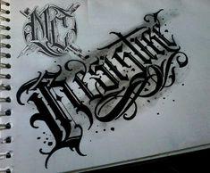 Tattoo Lettering Alphabet, Graffiti Lettering Fonts, Alphabet Fonts, Word Fonts, Script Lettering, Lettering Design, Calligraphy, Tattoo Flash, All Tattoos