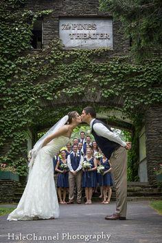Look Park Northampton Florence MA The Garden House Wedding Photo Ideas Photos Bride