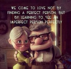 See an imperfect person perfectly