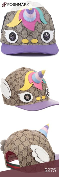 cacade05c9d Kids Gucci GG supreme UNICORN baseball hat SOLD OUT everywhere is this  fantastical
