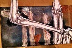 Art of Anatomy 2013 Skeleton Drawings, Drawing Ideas, Anatomy, Statue, Inspired, Artist, Artwork, Room, Painting