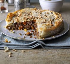 This Moroccan-style pie is a great source of iron and combines tender confit meat with crisp pastry. Make ahead and freeze for ultimate convenience