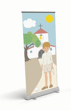 Photocall Comunión niño