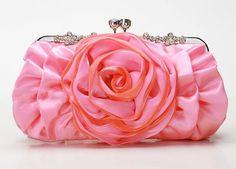 Sexy fashion clutch handbag 9983H pink