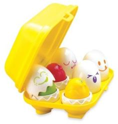 Buy Tomy Play to Learn - Hide n Squeak Eggs at Mighty Ape NZ. Tomy Play to Learn – Hide n Squeak Eggs Tomy hide n squeak eggs are suitable way to develop your child's shape sorting and motor skills and they prov. Toddler Gifts, Toddler Toys, Kids Toys, Infant Toddler, Baby Easter Basket, Easter Baskets, Egg Toys, Eggs For Baby, Baby Bath Toys