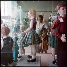 Gordon ParksOndria Tanner and Her Grandmother Window-shopping, Mobile, Alabama1956