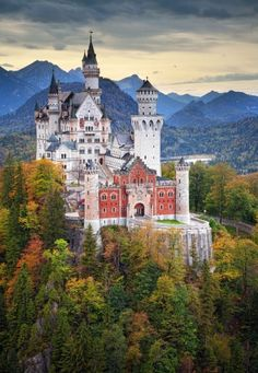 Neuschwanstein Castle, Hohenschwangau, Bavaria, Germany   14 of the Most Amazing Fairy Tales Castles you should See in a Lifetime