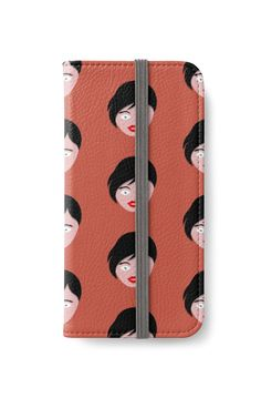 """Pretty Girl"" iPhone Wallets by bubbliciousart 