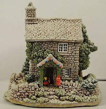 "LILLIPUT LANE ""Rydal Cottage"" Lakeland Christmas Collection 1995"